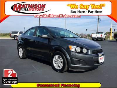 Used Chevrolet Sonic 2014 MATHISON LT