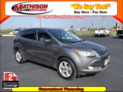 Used FORD ESCAPE 2014 MATHISON SE