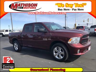 Used RAM 1500 2017 MATHISON EXPRESS