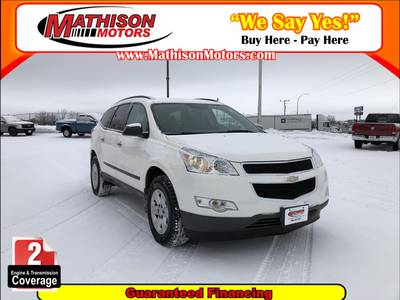 Used CHEVROLET TRAVERSE 2012 MATHISON LS
