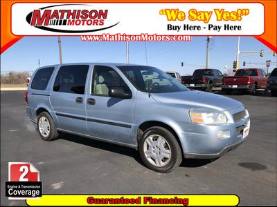 Used CHEVROLET UPLANDER 2007 MATHISON LS FLEET