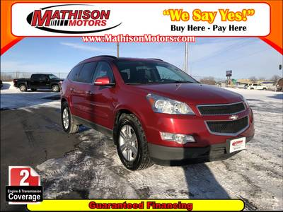 Used Chevrolet Traverse 2012 MATHISON 1LT
