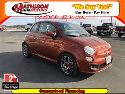 Used FIAT 500 2012 MATHISON SPORT