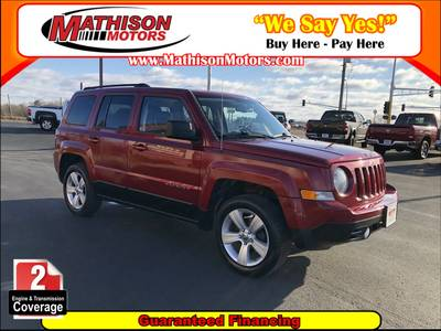 Used Jeep Patriot 2012 MATHISON LATITUDE