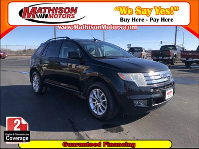 Used Ford Edge 2009 MATHISON SEL