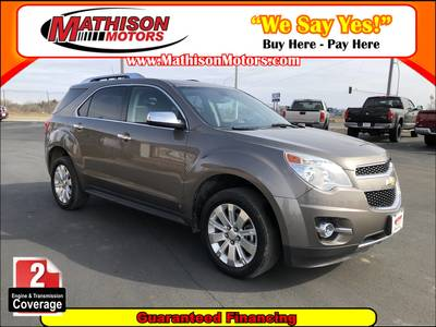 Used Chevrolet Equinox 2010 MATHISON LT W/2LT