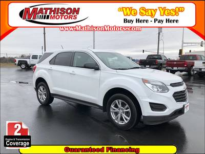 Used Chevrolet Equinox 2017 MATHISON LS