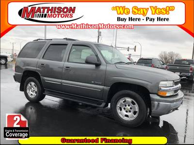 Used CHEVROLET TAHOE 2002 MATHISON LT