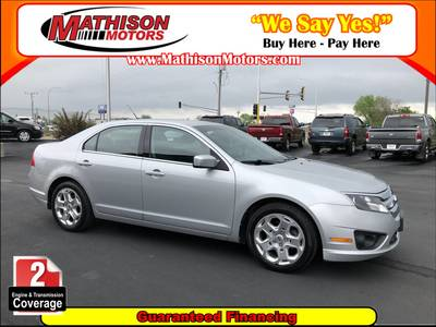 Used FORD FUSION 2010 MATHISON SE