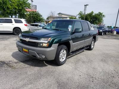 Used CHEVROLET AVALANCHE 2002 KILLEEN BASE