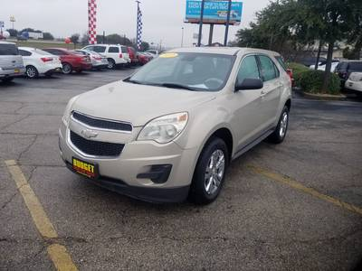 Used CHEVROLET EQUINOX 2012 KILLEEN LS