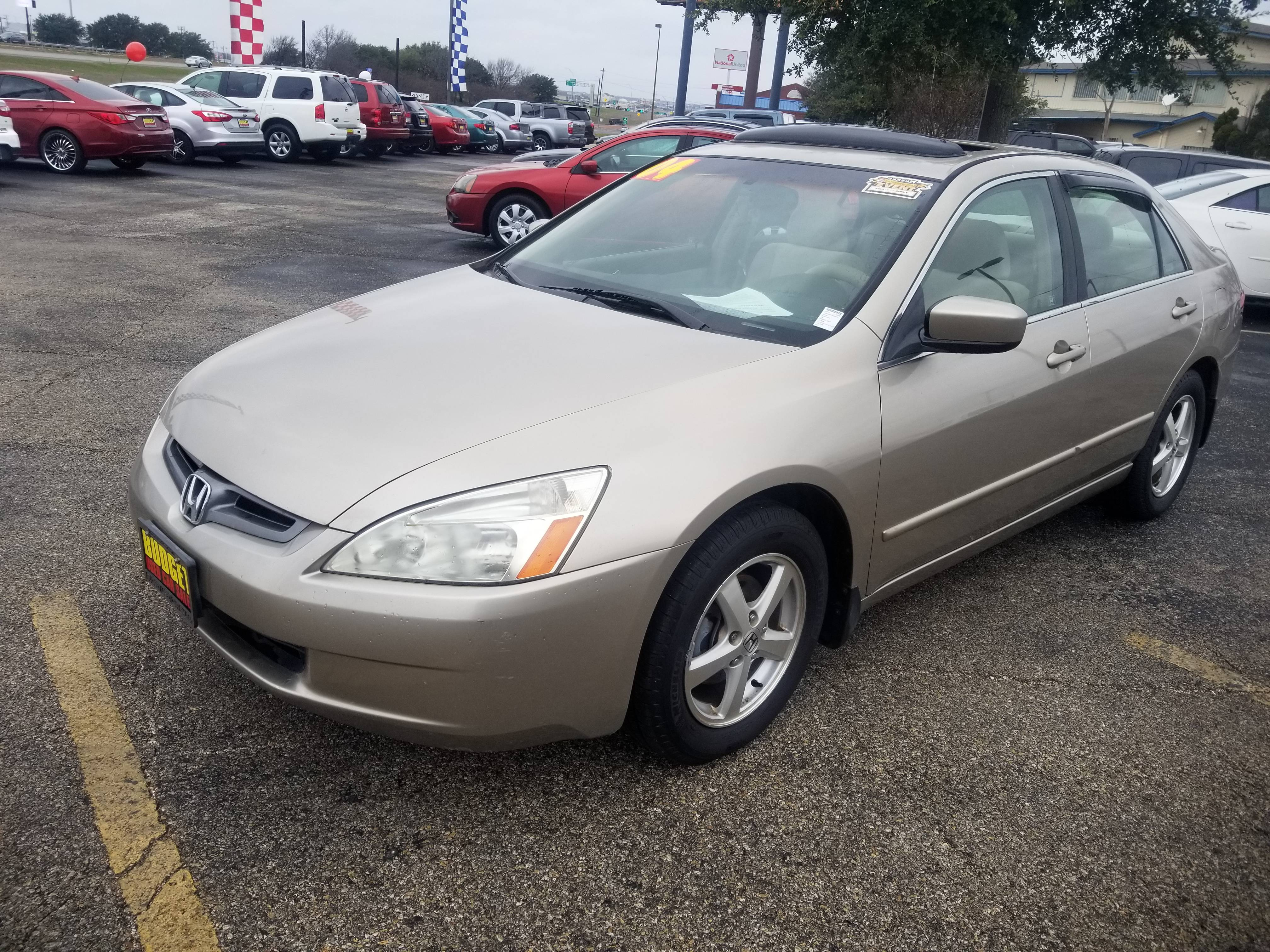 Used 2004 Honda Accord Sdn EX for sale in KILLEEN   25161   BUDGET USED CAR SALES, LP