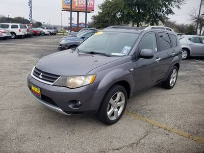 Used Mitsubishi Outlander 2007 KILLEEN XLS