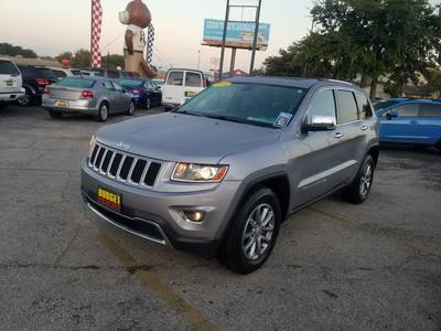 Used JEEP GRAND-CHEROKEE 2014 KILLEEN LIMITED