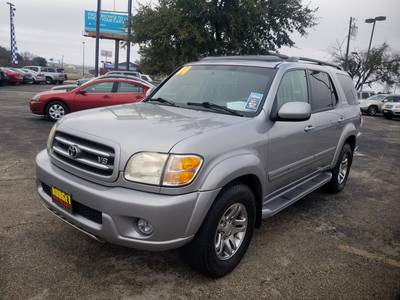 Used Toyota Sequoia 2004 KILLEEN LIMITED