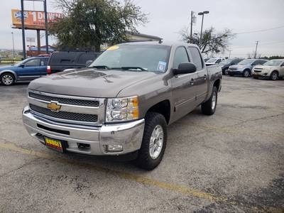 Used Chevrolet Silverado-1500 2012 KILLEEN LT