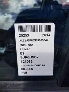 Used Mitsubishi Lancer 2014 KILLEEN ES