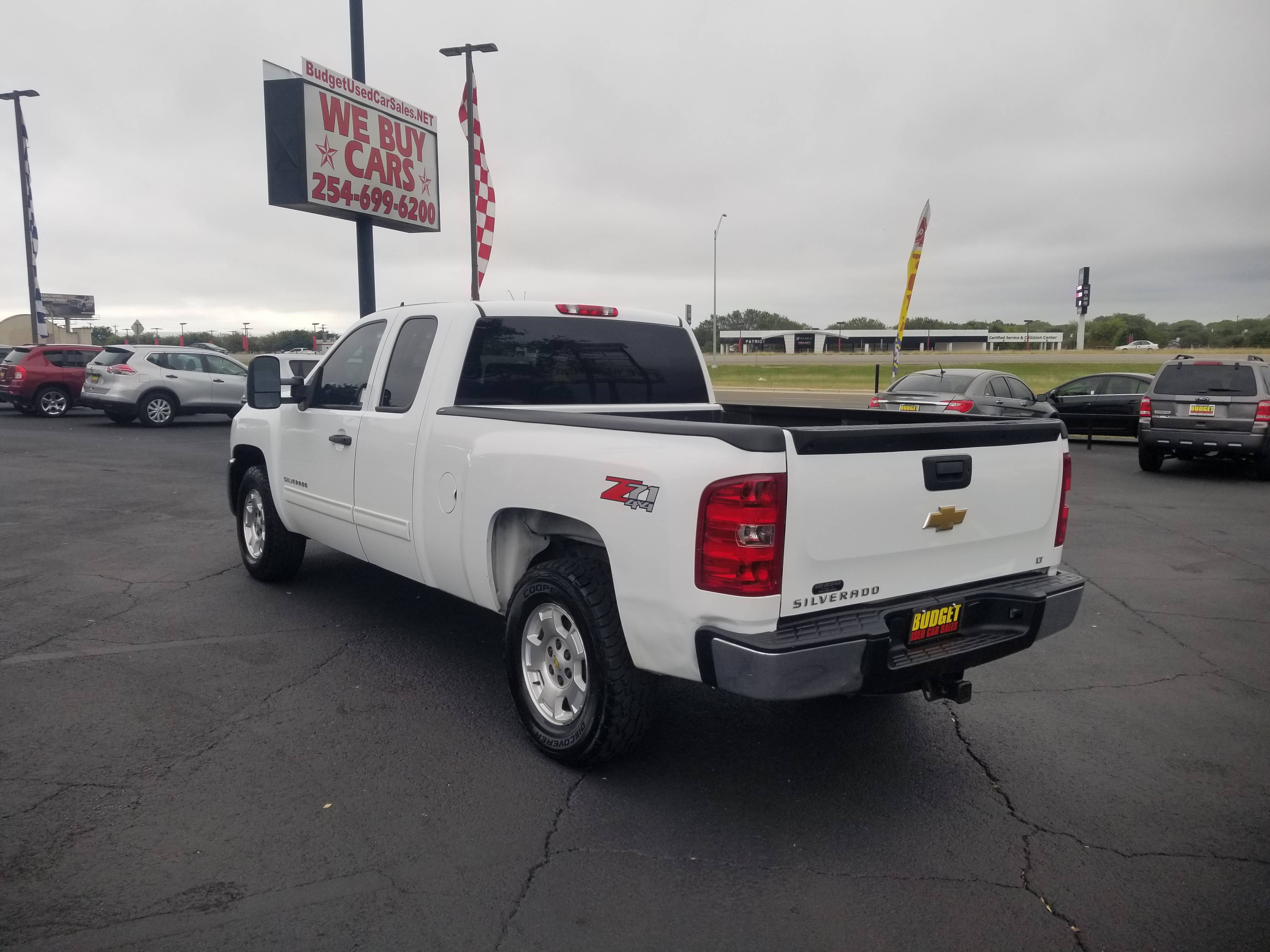 used vehicle - Truck CHEVROLET SILVERADO 1500 2013