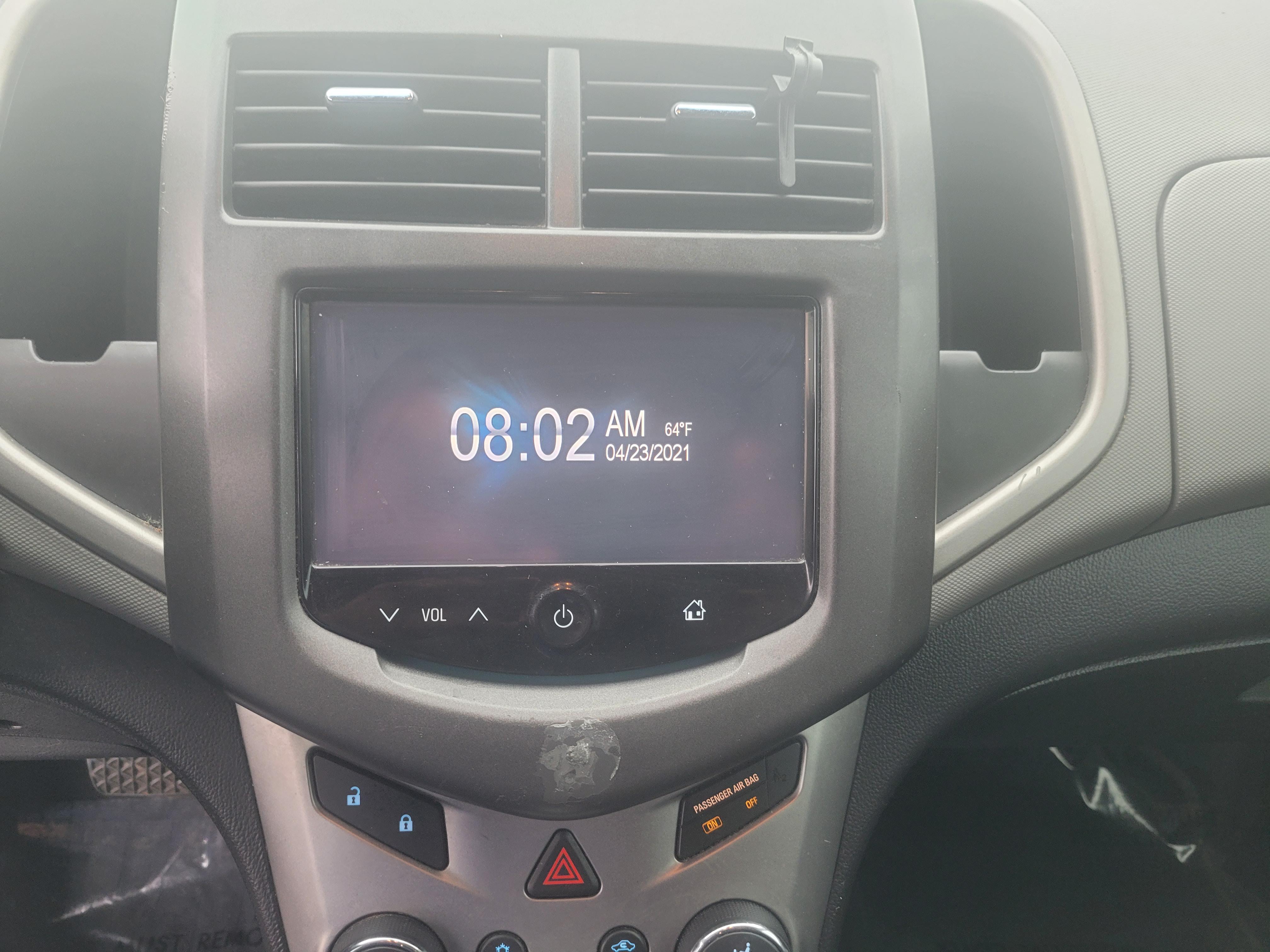 used vehicle - Sedan CHEVROLET SONIC 2014