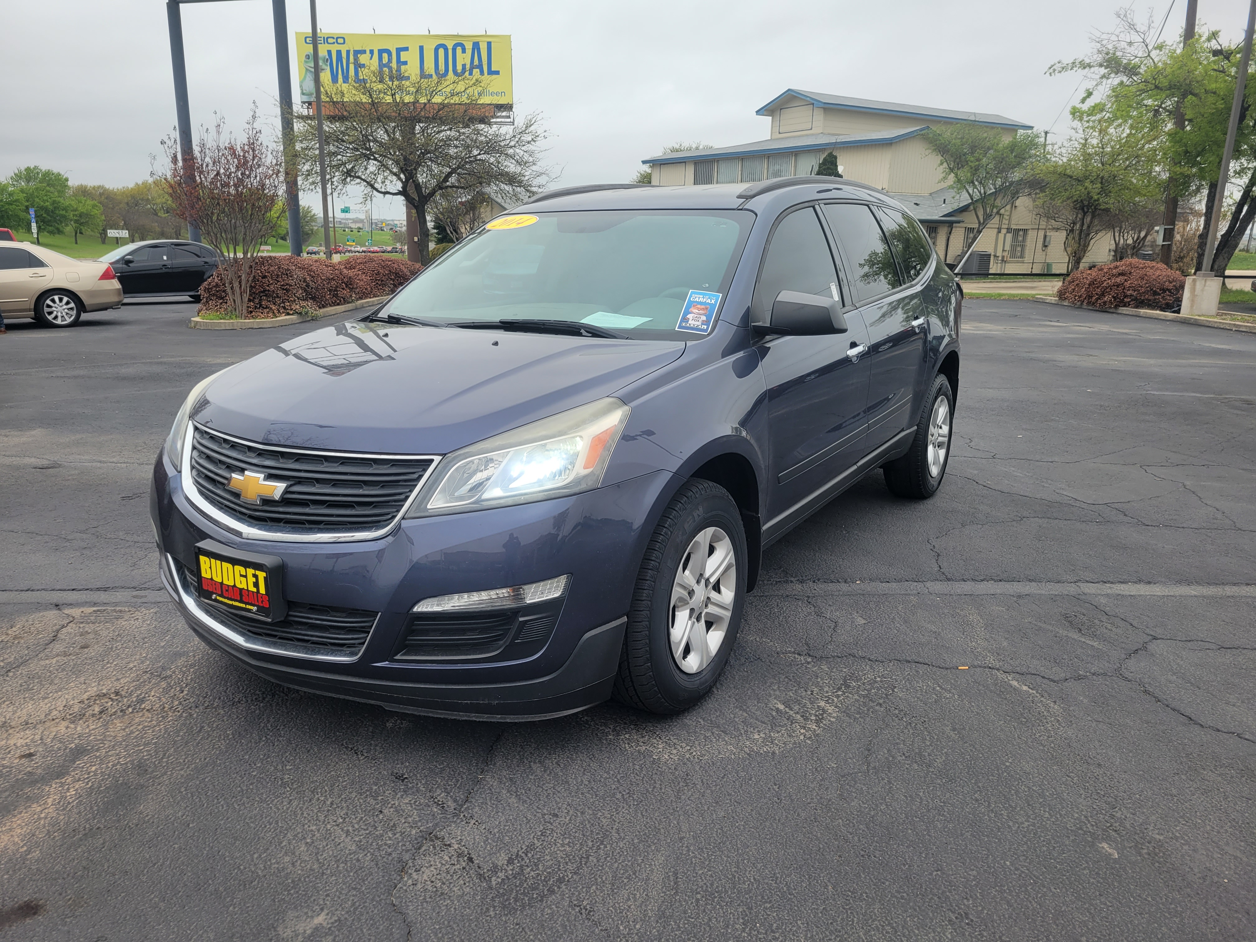 used vehicle - SUV CHEVROLET TRAVERSE 2014