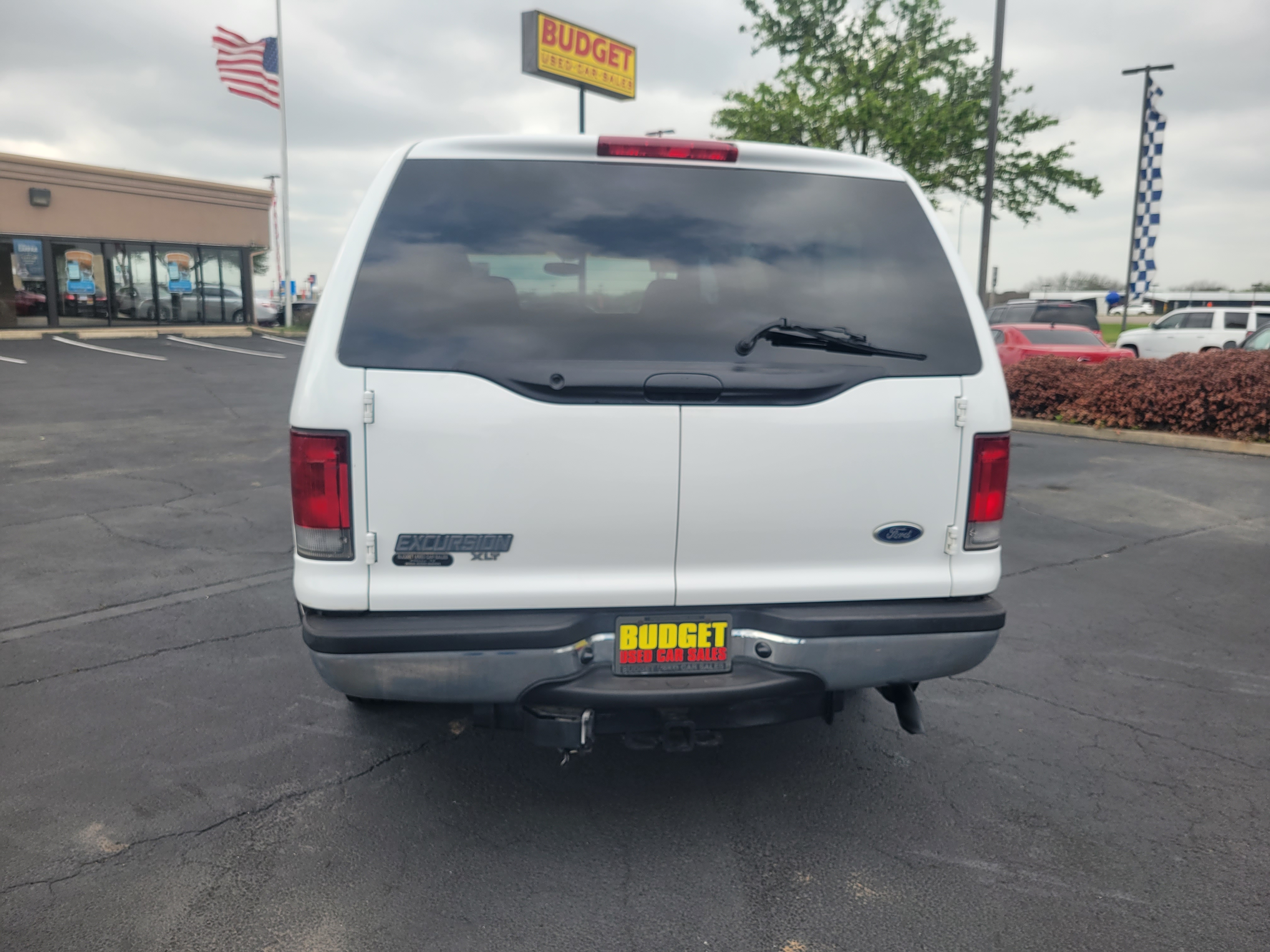 used vehicle - SUV FORD EXCURSION 2002