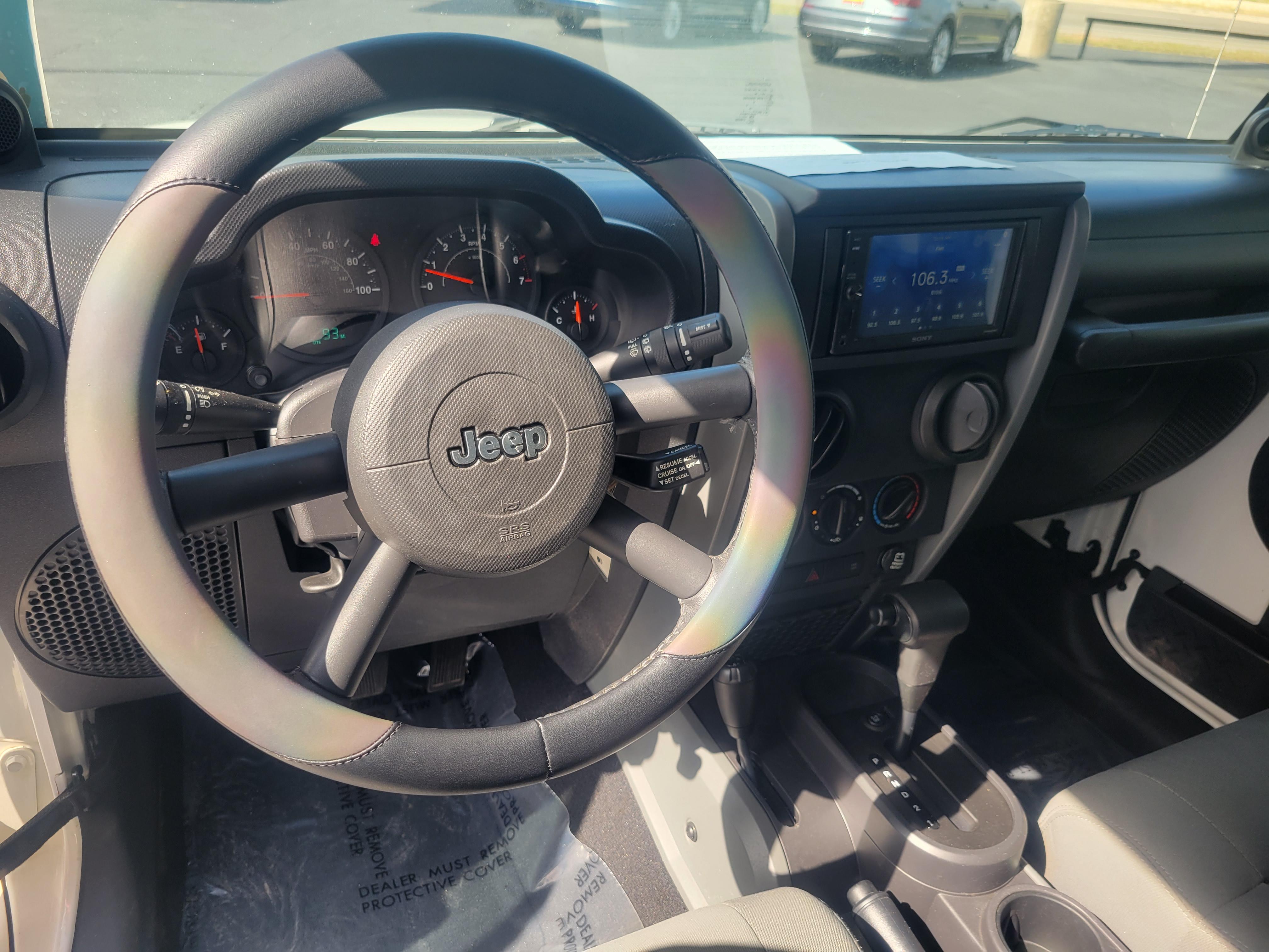 used vehicle - SUV JEEP WRANGLER 2009