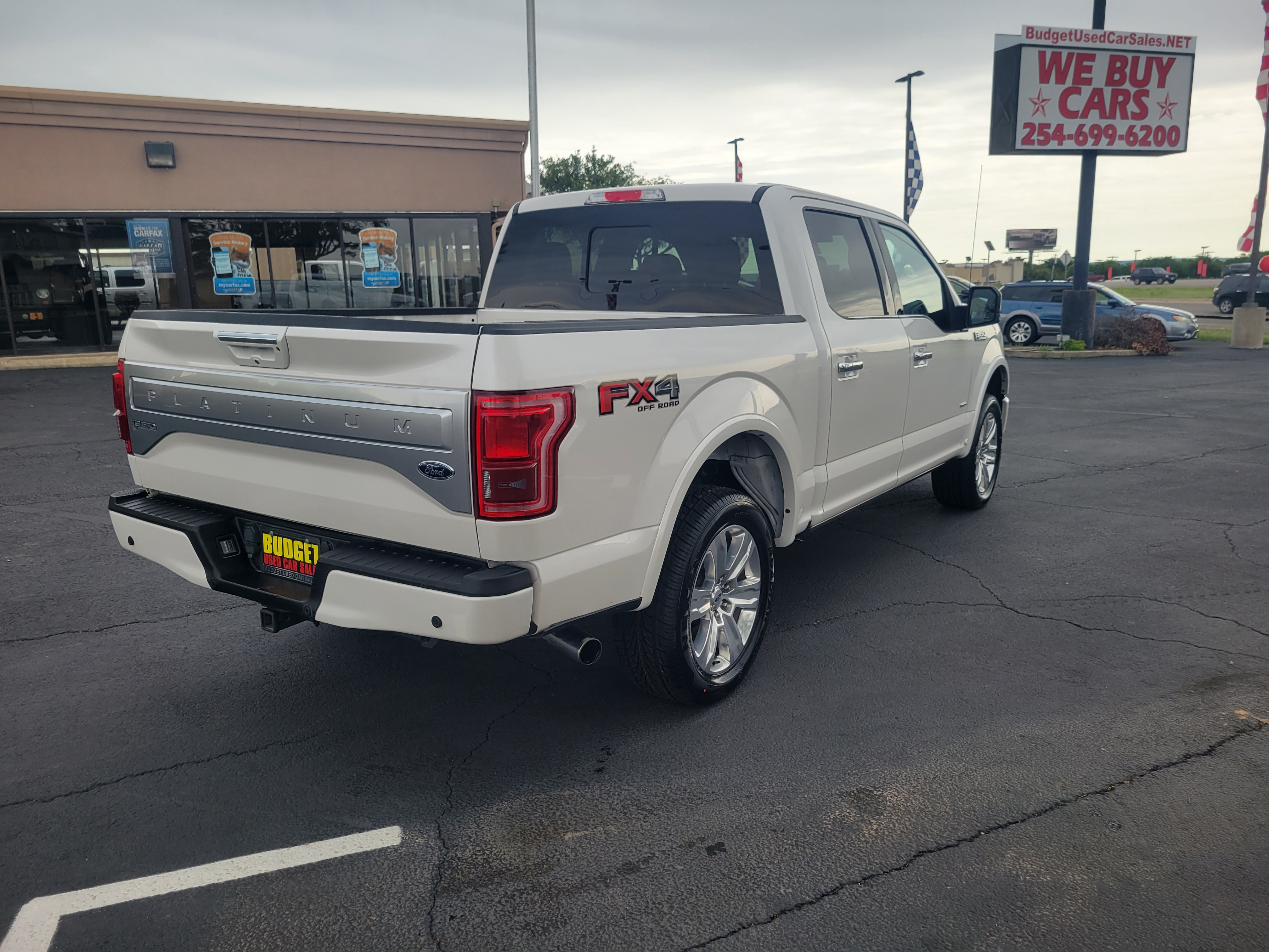 used vehicle - Truck FORD F-150 2017