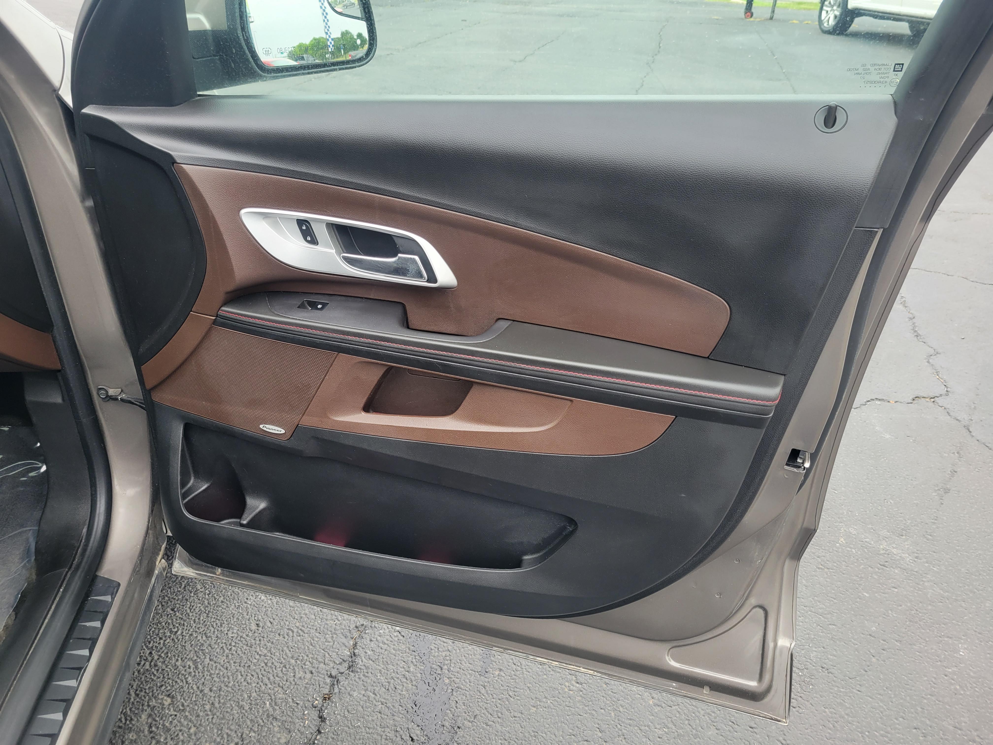 used vehicle - SUV CHEVROLET EQUINOX 2012