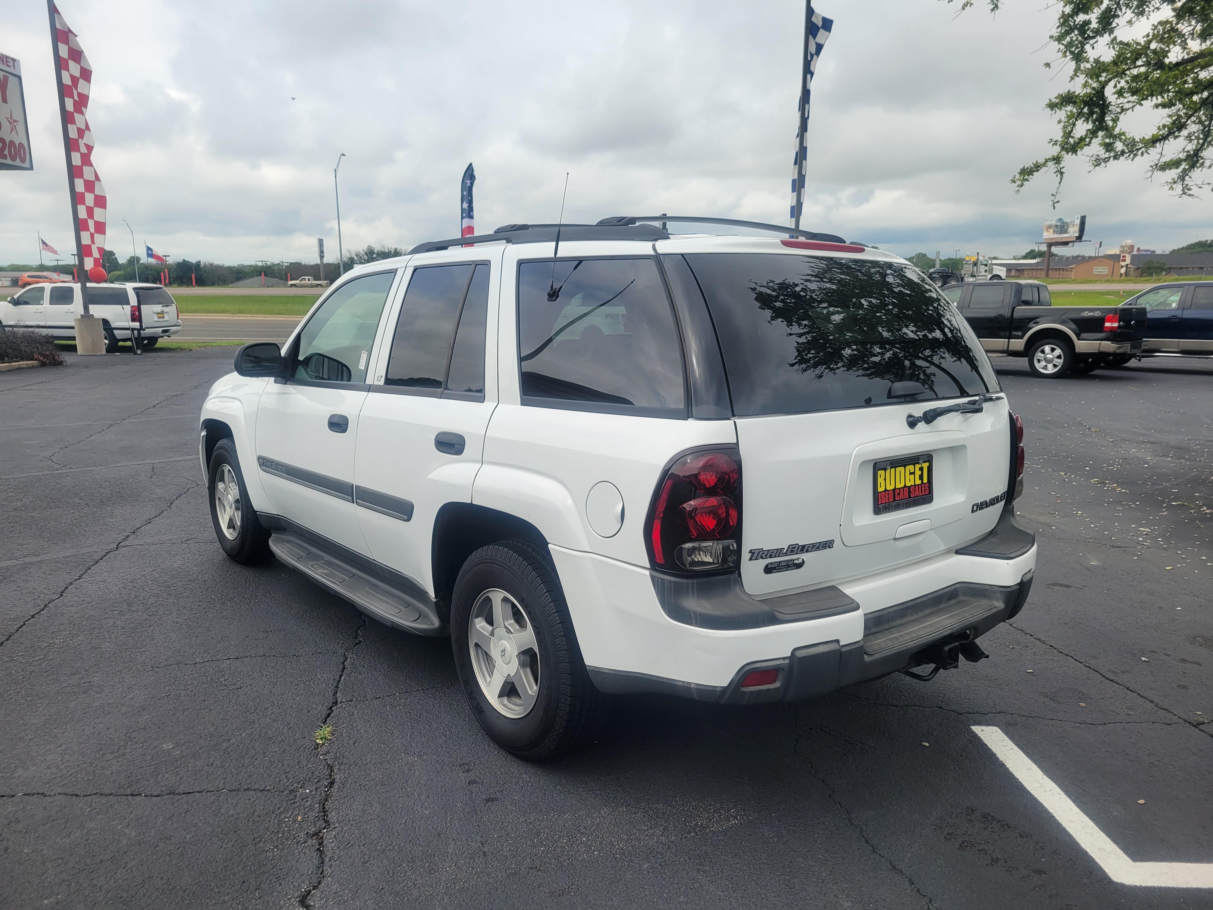 used vehicle - SUV CHEVROLET TRAILBLAZER 2002