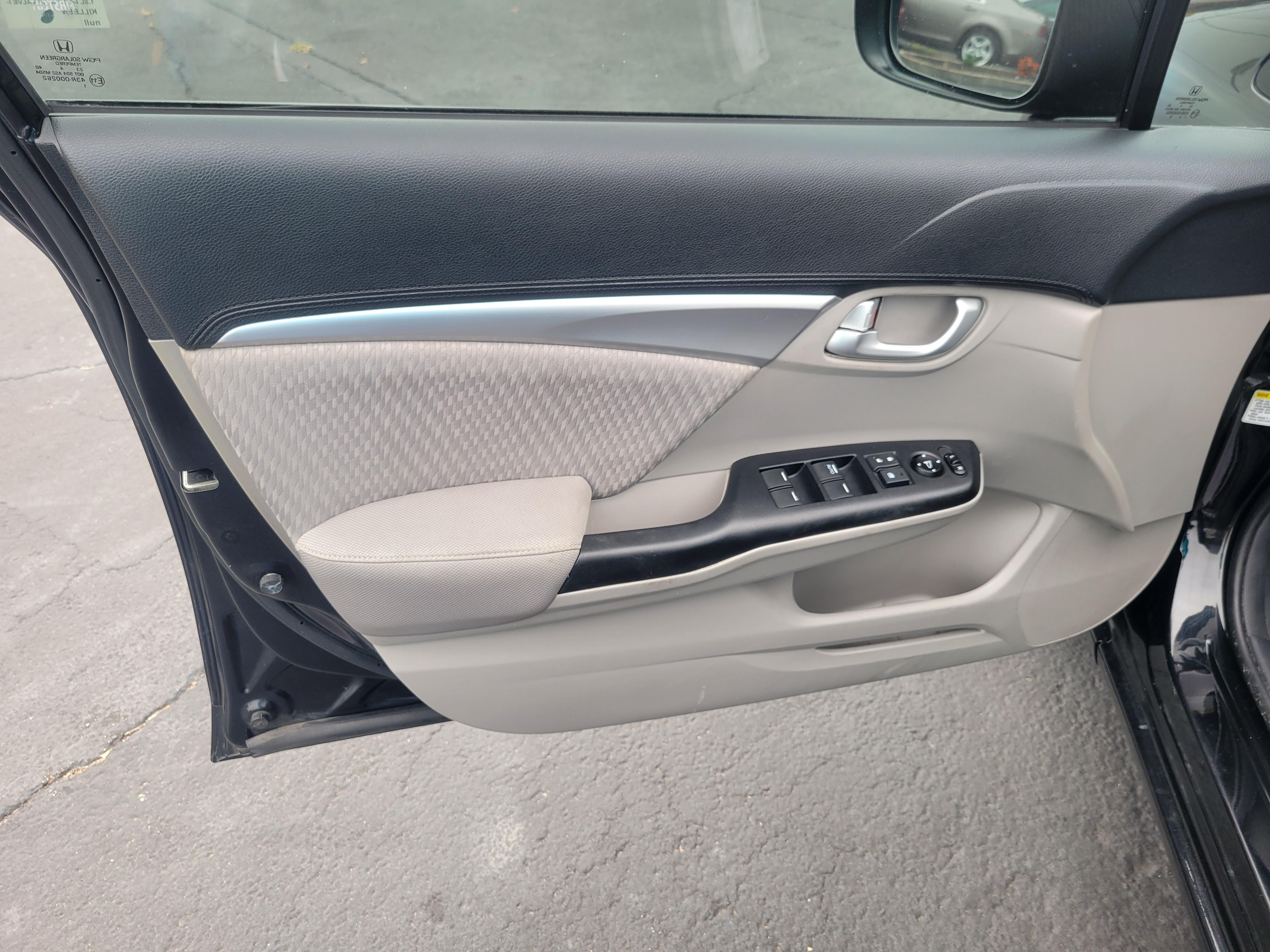 used vehicle - Sedan HONDA CIVIC 2014