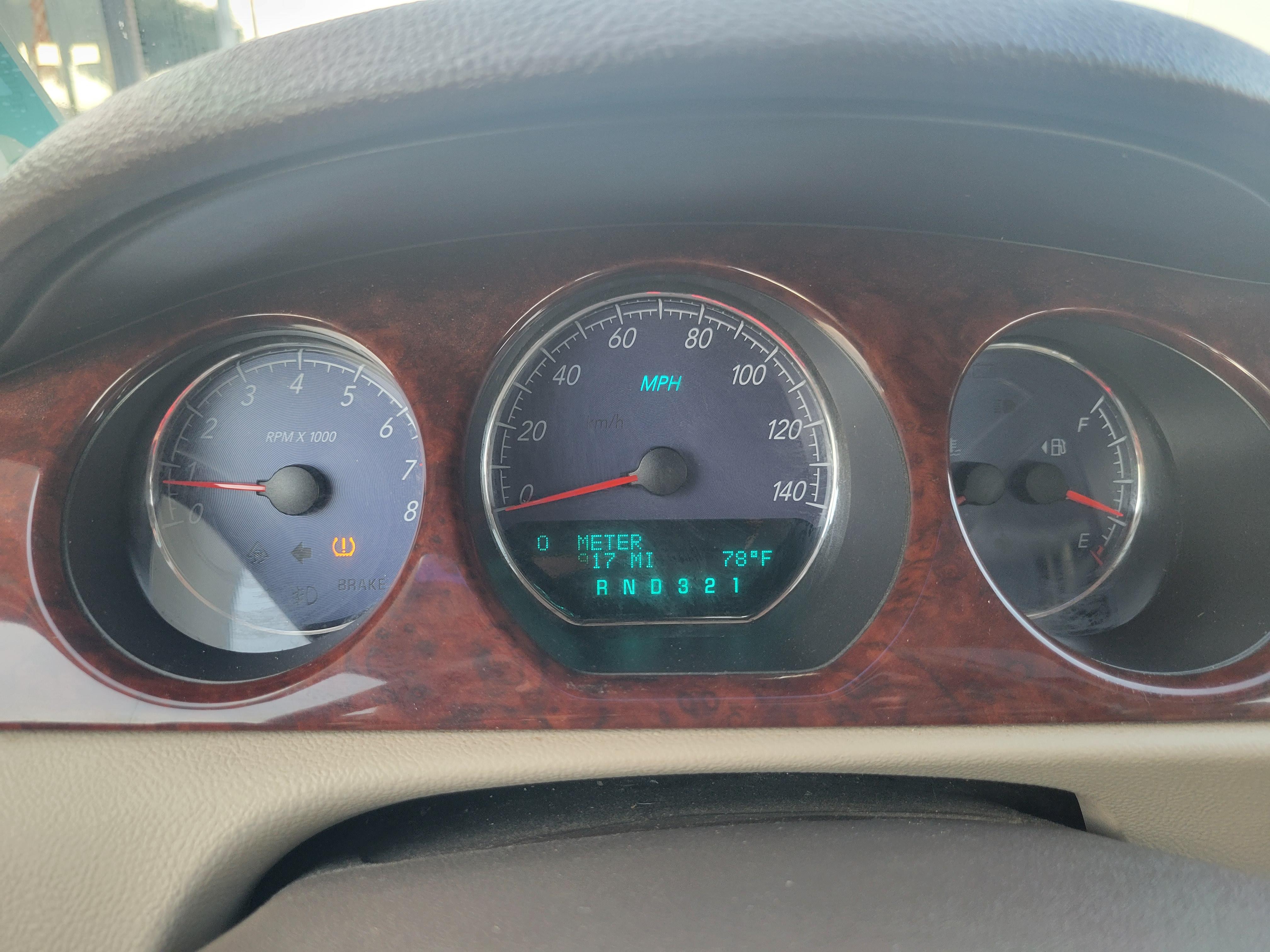 used vehicle - Sedan BUICK LUCERNE 2007
