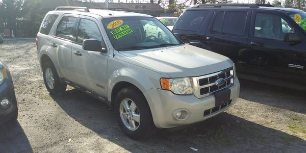 Used FORD ESCAPE 2008 MASTERCARS AUTO SALES XLS