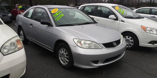Used HONDA CIVIC-CPE 2005 MASTERCARS AUTO SALES HX SSRS