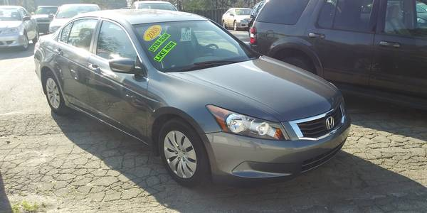 Used HONDA ACCORD-SDN 2008 MASTERCARS AUTO SALES LX