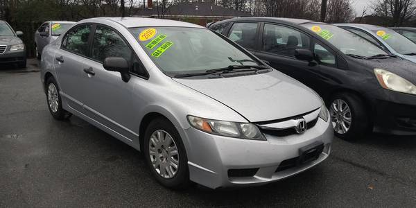 Used HONDA CIVIC-SDN 2010 MASTERCARS AUTO SALES DX-VP